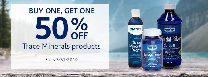 BOGO 50% Trace Minerals