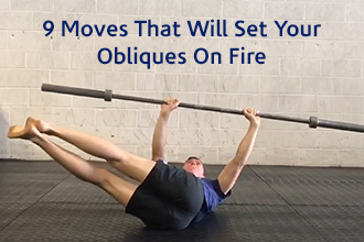 9 Moves that will set your Obliques on Fire