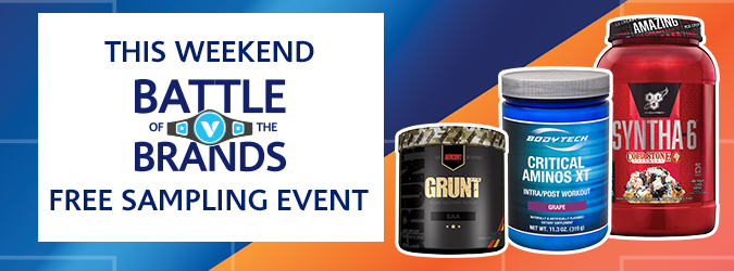 Battle of the Brands Weekend Event (In Store Event)