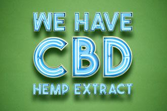 We have CBD Hemp Extract