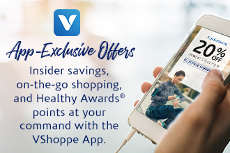 VSHOPPE App Exclusive Offers