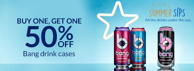 BOGO 50% Bang