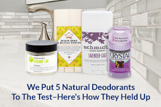 We Put 5 Natural Deodorants to the Test – Here's How They Held Up
