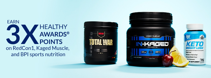 3x HA Points RedCon1, Kaged Muscle, BPI