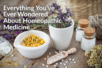 Everything You've Ever Wondered About Homeopathic Medicine