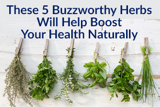 These 5 Buzzworthy Herbs Will Help Boost Your Health Naturally