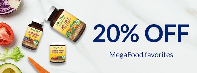 20% Megafood