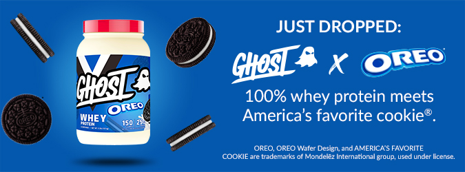 New: Ghost Mystery Protein Launch