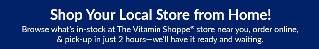 Shop Your Local Store from Home