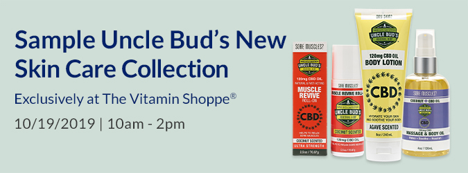 Sample Uncle Bud's New Skin Care Collection