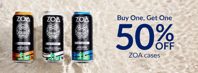 BOGO 50% Off ZOA