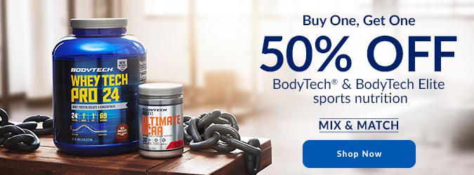 BodyTech & BodyTech Elite BOGO 50%