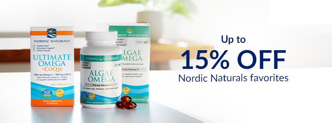Nordic Naturals 15% Off