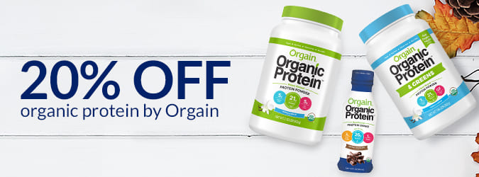 20% Off Organic Protein by Orgain