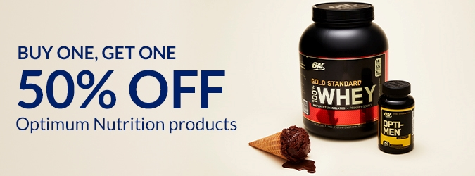 BOGO 50% Optimum Nutrition