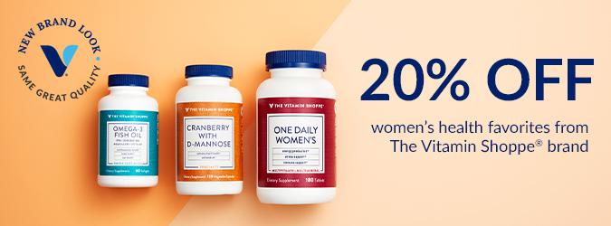Women's Health 20% Off