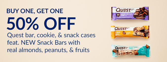 Buy one get one 50% off Quest cases