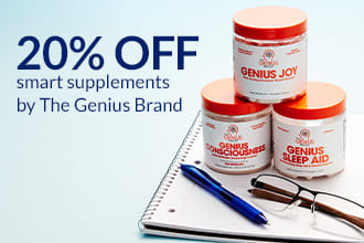 20% off Smart Supplements by The Genius Brand