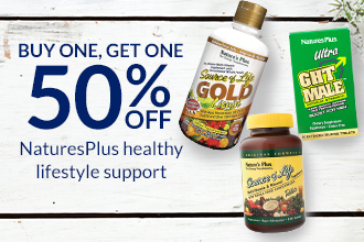 BOGO50 Nature's Plus